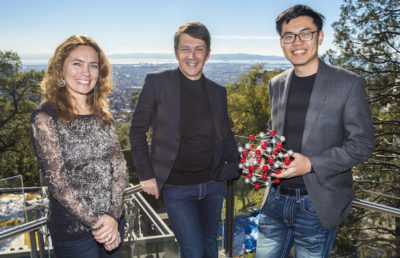 Kristin Persson, Gerbrand Ceder and Wenhao Sun at Lawrence Berkeley National Laboratory on Thursday, November 17, 2016 in Berkeley, Calif. 11/17/16