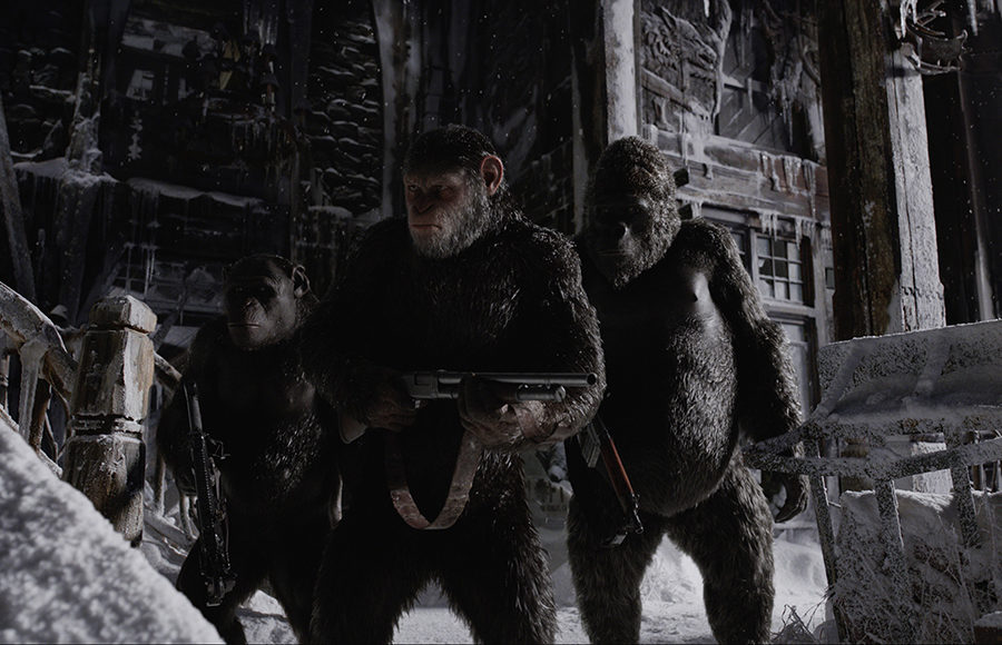 """War for the Planet of the Apes"" 