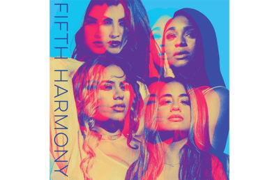 The album cover for Fifth Harmony's new album, titled Fifth Harmony.