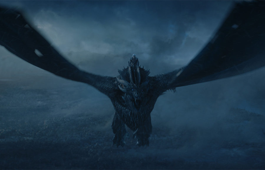 Viserion, dragon from GoT