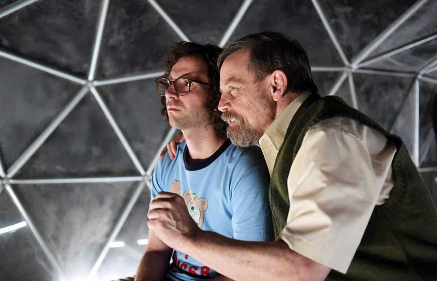 "Kyle Mooney and Mark Hamill in ""Brigsby Bear."""