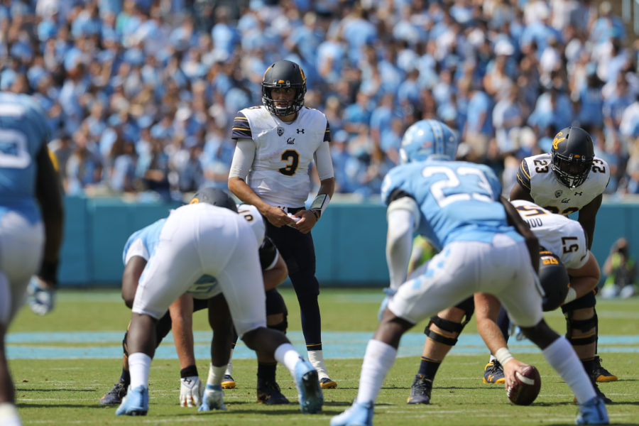 Football: California Golden Bears at North Carolina Tar Heels