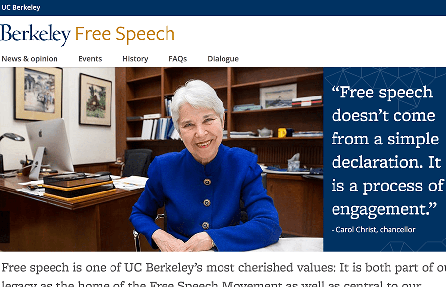 Right-wing 'Free Speech Week' at Berkeley now collapsing into a sad 'sh*tshow'