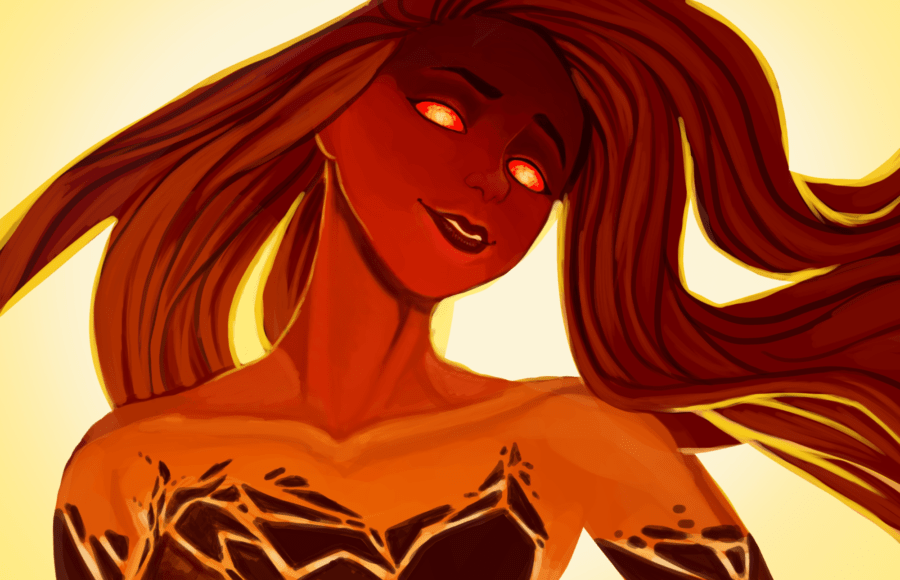 lava fire girl