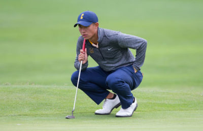 Collin Morikawa Fairfax, CA - OCTOBER 11, 2016: Cal Men's Golf During the Alister MacKenzie Invitational at the Meadow Club.