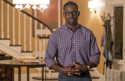 "THIS IS US -- ""Deja Vu"" Episode 203 -- Pictured: Sterling K. Brown as Randall -- (Photo by: Ron Batzdorff/NBC)"