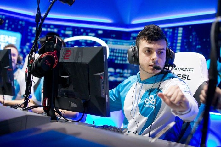 Cloud9 on stage at IEM Oakland 2017.