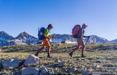 Anthony Ottati and his friends hike the Sierra High Route.