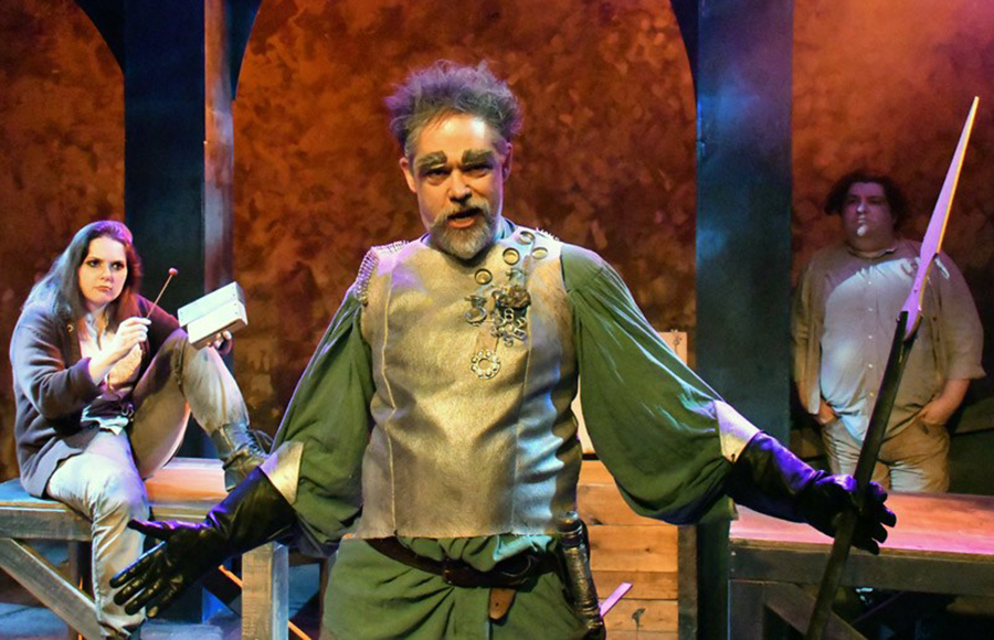 The madman's tempting picture of the world: 'Man of La Mancha' offers laughs and tears