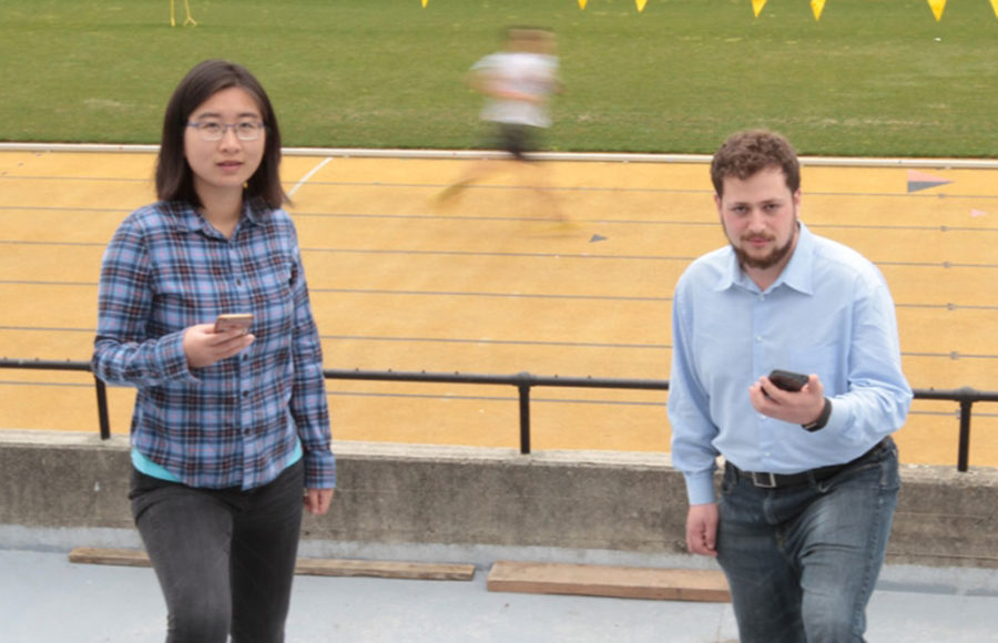 UC Berkeley graduate students Mo Zhou and Yonatan Mintz helped develop an app that uses machine learning to create reasonable, tailored fitness goals.