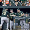 A's at Orioles 8/22/17