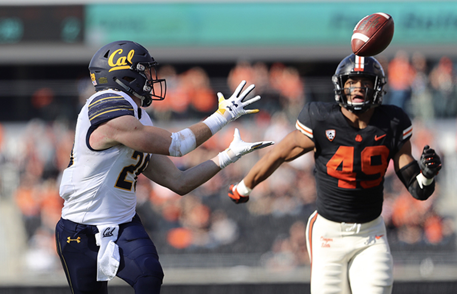 Back on track: Cal football notches 1st Pac-12 road win since 2015 with 49-7 blowout over OSU