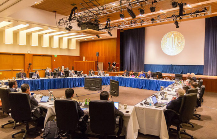 UC workers voice concerns at 2nd day of regents meetings