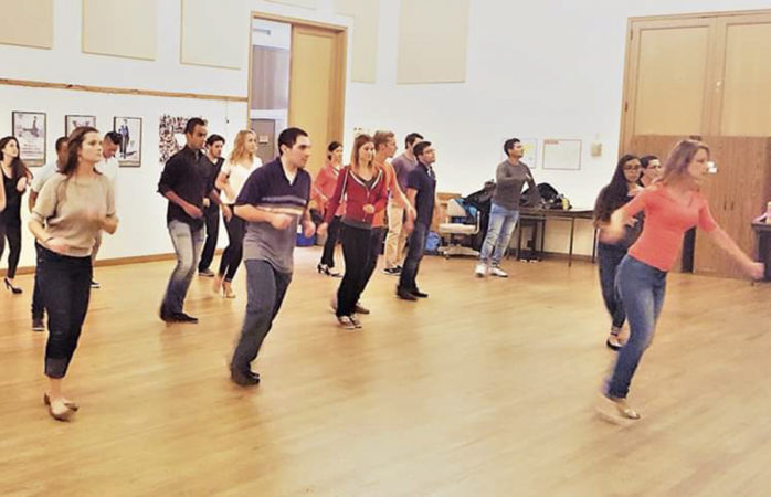 Follow the leader: Teaching salsa and the duty to create community