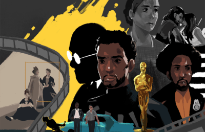 Scenes from movies nominated for Oscars Best Picture