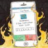 A cell phone with the screen showing 2 Step Verification on fire