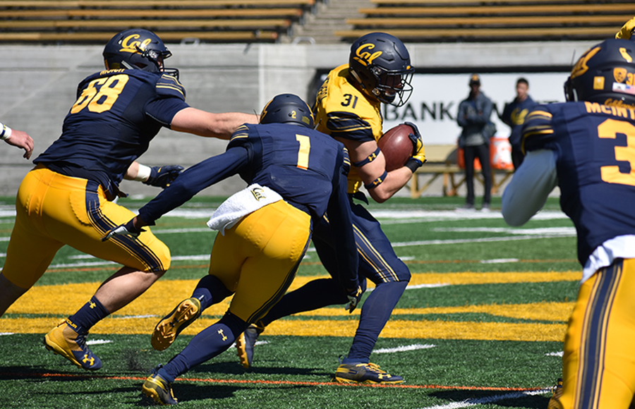 Running backs, linebackers shine brightest for Cal football in Spring Game