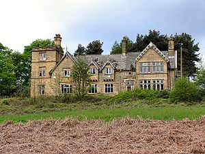 Thornseat Lodge. By its appearance, once a mag...