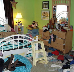 Daughter's Messy Room