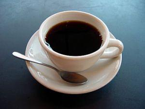 English: A photo of a cup of coffee. Esperanto: Taso de kafo. Français : Photo d'une tasse de caffé Español: Taza de café (Photo credit: Wikipedia)