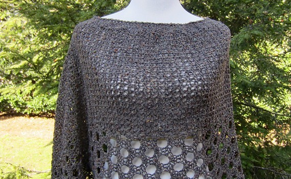 Free Pattern Light And Lacy This Poncho Keeps You