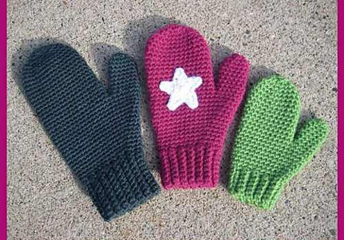 Free Pattern Quick And Easy Crochet Mittens For Women