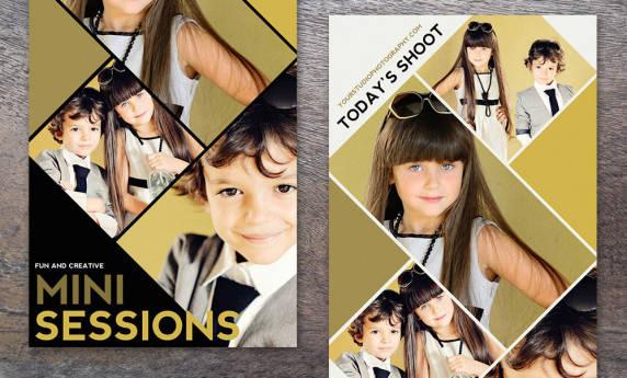 Photographer Collage Templates Photoshop Templates