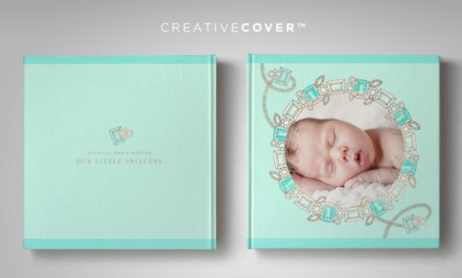 Newborn Photography Album Template Jewel Fantasy CreativeCovers™
