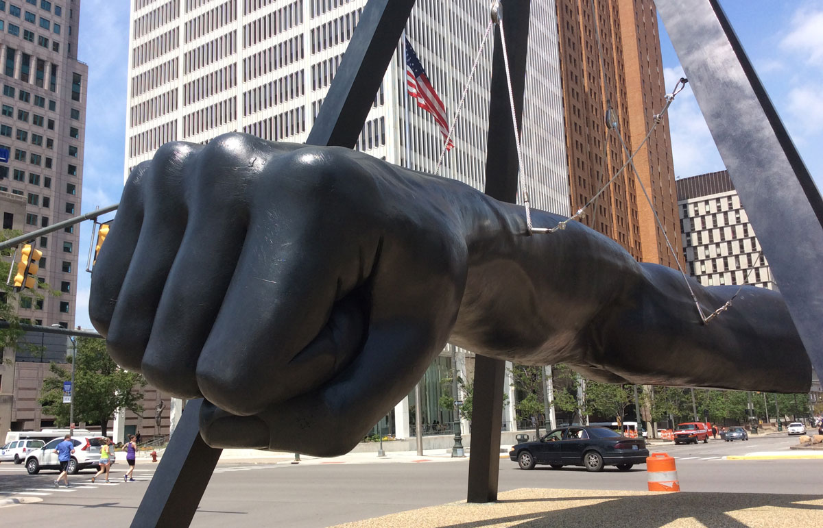 Bakery Wallpaper Hd The Real Story Behind Detroit S Giant Joe Louis Fist