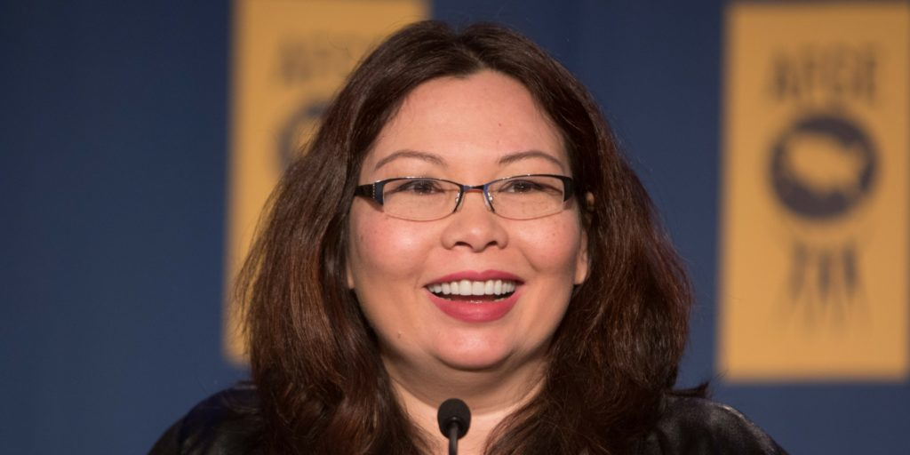 Tammy Duckworth Illinois Senator Becomes First to Give Birth in Office