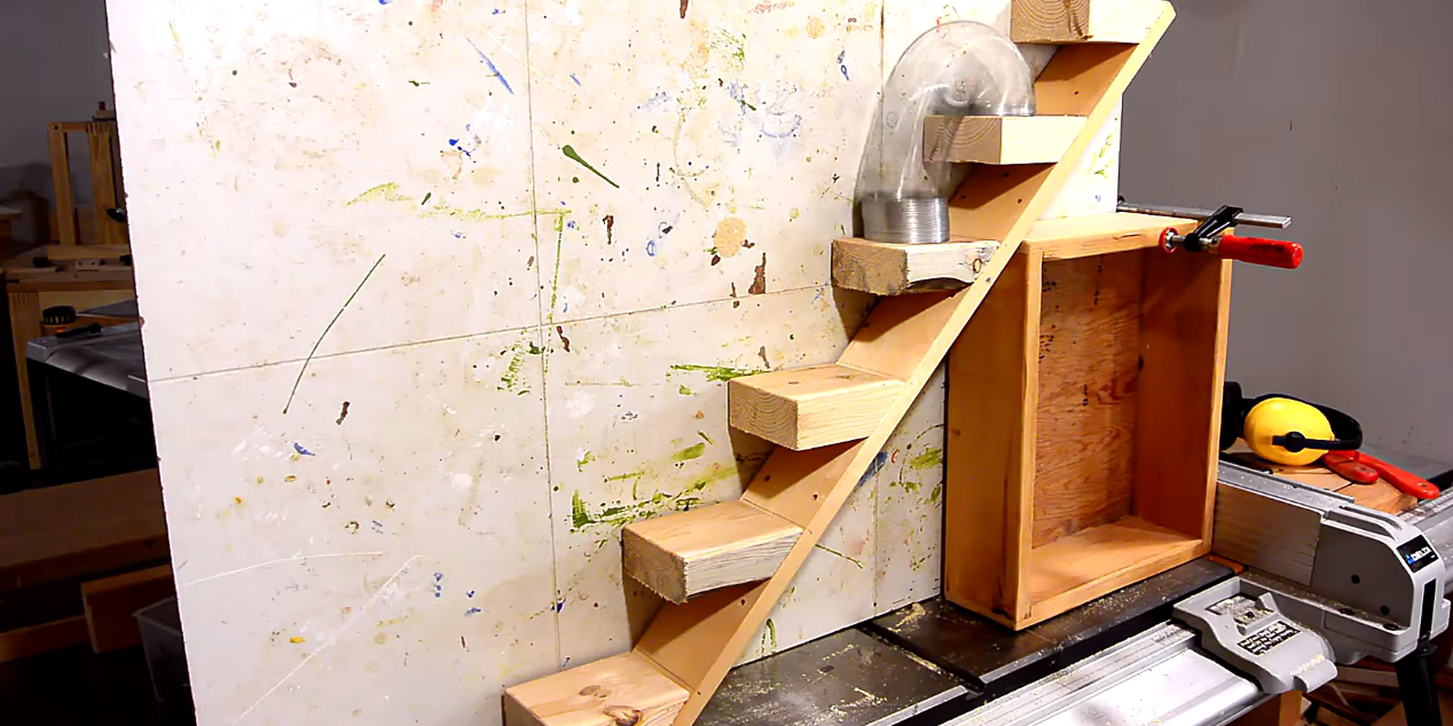 Homemade Slinky Staircase Is The Pinnacle Of Human