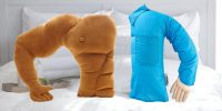 These boyfriend pillows will keep you snuggly on Valentine