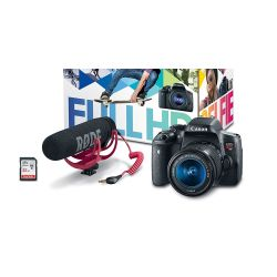 Small Crop Of Canon Rebel T6i Bundle