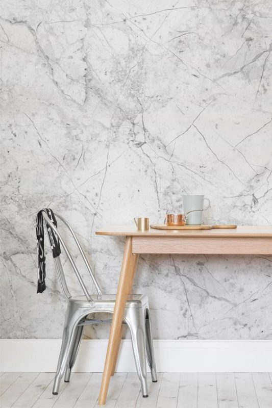 Grey Brick Wallpaper 3d 7 Reasons You Will Love A Marble Wallpaper Daily Dream Decor