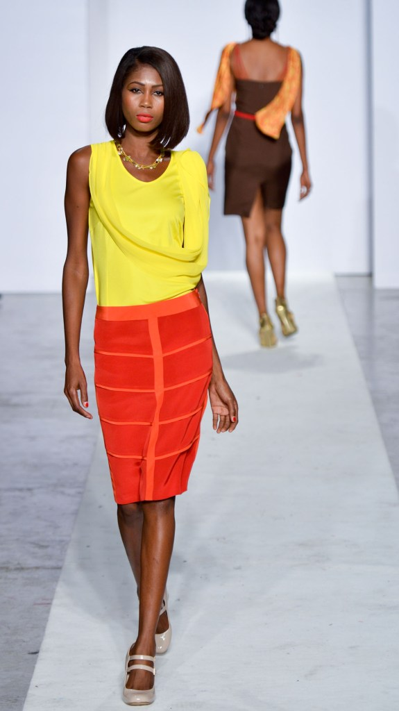 Kiki Barth during Bien Abye by Dayanne Danier at Funkshion Fashion Week 2012
