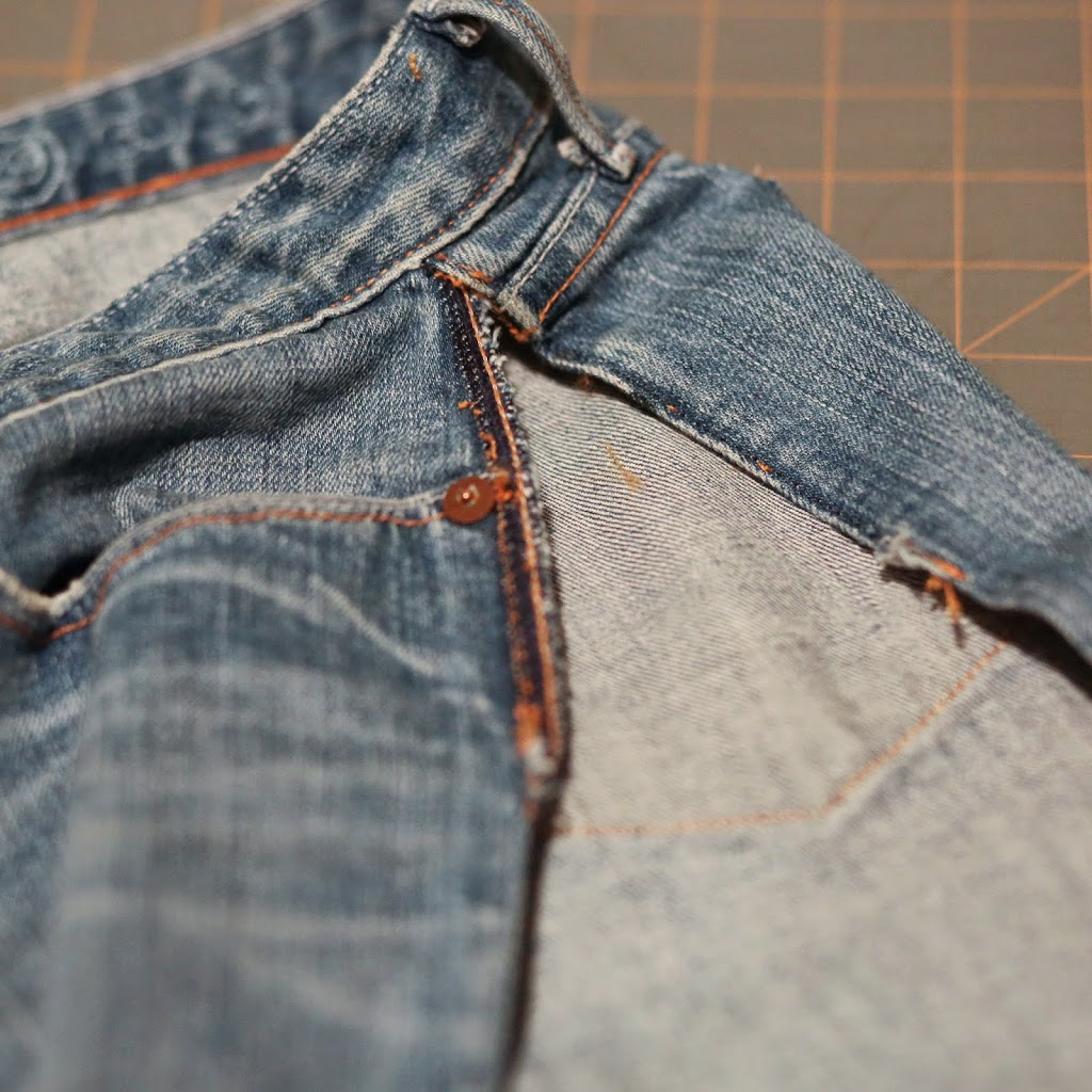 how to stop jeans from ripping between legs