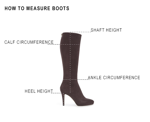 HOW TO TAKE BOOT MEASUREMENTS