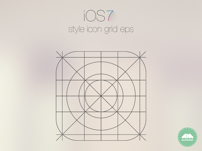 IOS7 App Icon Grid template Vector Free PSD,Vector,Icons - iphone app icon template