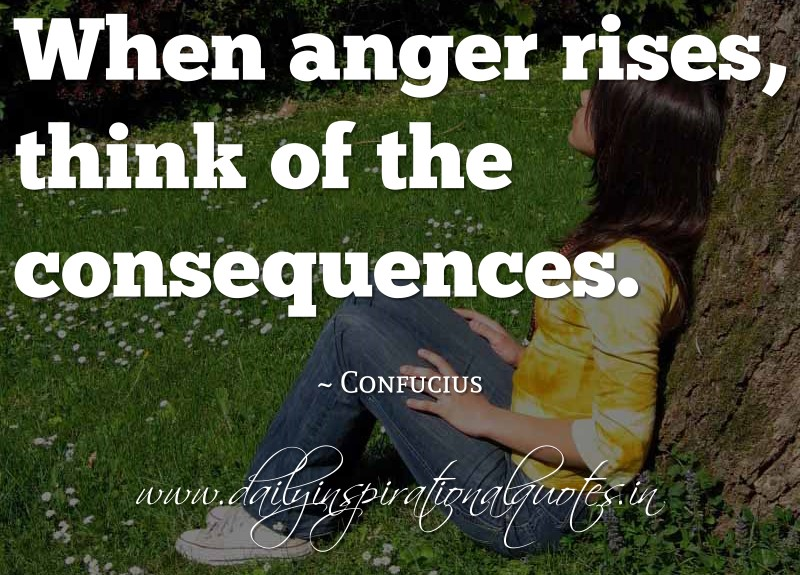 Think of the consequences confucius self improvement quotes