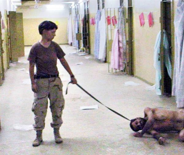 This Picture shows the violation of almost everything. These cruel acts carried out by the US Army along with the additional governmental agencies came into light after this Picture was published.