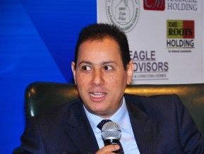 Chairman of the Egyptian Stock Exchange (EGX) Mohamed Omran  (Photo by Hassan Ibrahim)