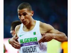 Algerian Makhloufi wins the gold medal