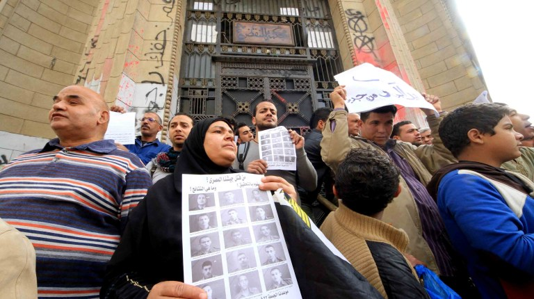 Protest at the High Court (Photo By Ahmed AlMalky/DNE