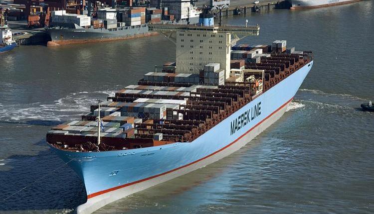 Maersk line ships  (Hero Lang/AFP/Getty Images)