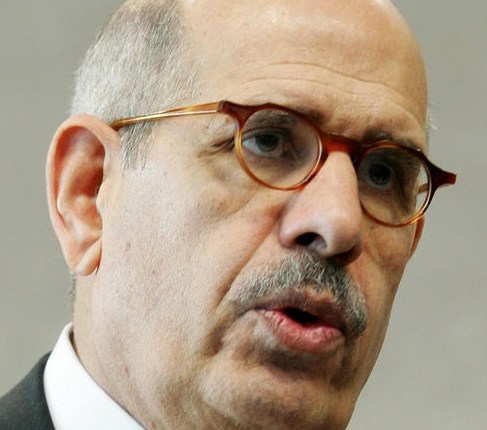 National Salvation Front (NSF) leader Mohamed ElBaradei accused the Muslim Brotherhood of eliminating other political powers in Egypt from the decision making process. (AFP Photo)