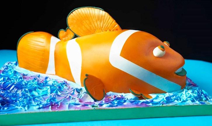 A Nemo 3-D cake