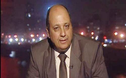 Moataz Salah Eddin went on to address rumours that Al-Wafd had been offered four ministerial positions though a government reshuffle if it participated in elections by saying that those reports were fabrications. (Photo: Moataz Salah Eddin) (Photo Courtesy of Al-Wafad Official Facebook Fan Page)