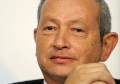 Naguib Sawiris (AFP Photo)