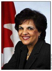 Senator Mobina Jaffer