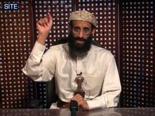 Anwar al-Awlaki speaks in this undated still image from video released in October 2010 (SITE Intelligence Group/AFP/AFP)